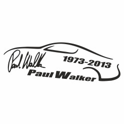 Paul Walker Unterschrift outline