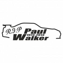 Rip Paul Walker Skyline outline