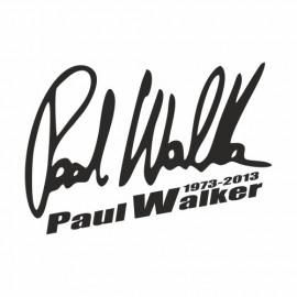 Paul Walker 1973-2013 Unterschrift small