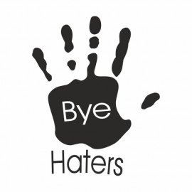 Bye hater Hand