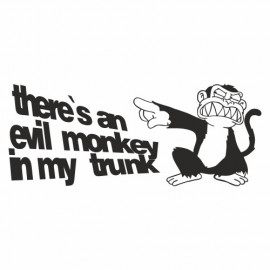 There is e Evil Monkey in my Trunk