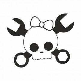 Skull Schraubenschlüssel