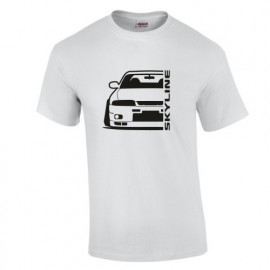Nissan Skyline R33 GTR Outline Modern