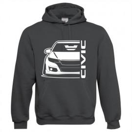 Honda Civic Type R 2015 outline Modern Hoodie
