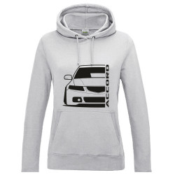 Honda Accord CL  Outline Modern Lady Hoodie