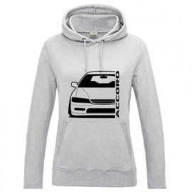Honda Accord CE2 Outline Modern Hoodie Lady
