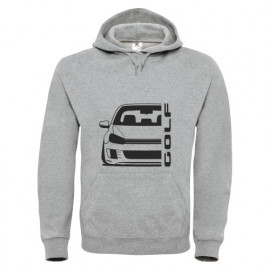 VW Golf 6 Typ 1K 2008-2013 35 Edition GTI Outline Modern Hoodie