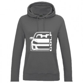 VW Golf 6 Typ 1K 2008-2013 35 Edition GTI Outline Modern Hoodie Lady