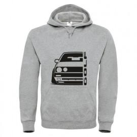 VW Golf MK2 Outline Modern Hoodie
