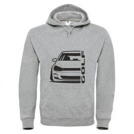 VW Golf MK7 Outline Modern Hoodie