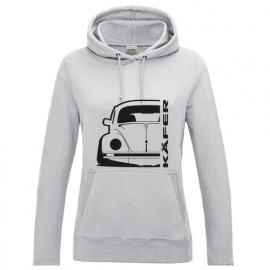 VW Käfer Mexico 72 Outline Modern Hoodie Lady