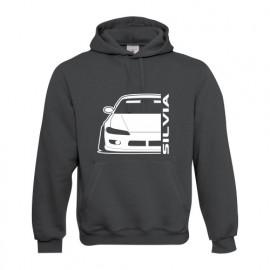 Nissan Silvia s15 Outline Modern Hoodie