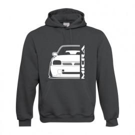 Nissan Micra K11 Outline Modern Hoodie