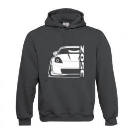 Nissan 350Z Outline Modern Linse Hoodie