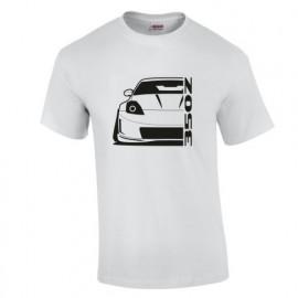 Nissan 350Z Outline Modern Linse T-Shirt
