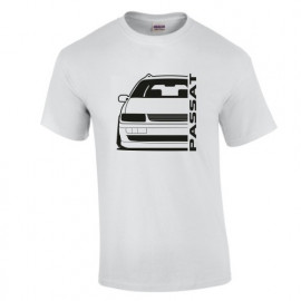VW Passat 35i Facelift Outline Modern T-Shirt