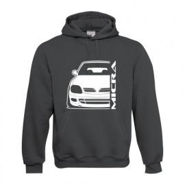 Nissan Micra K11 Sport Outline Modern Hoodie