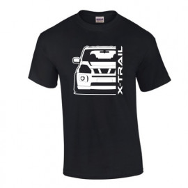 Nissan X-Trail T31 Outline Modern T-Shirt