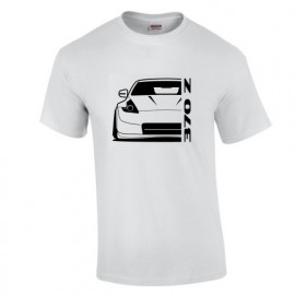 2014 Nissan 370Z Nismo Outline Modern T-Shirt