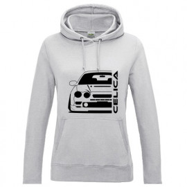 Toyota Celica T20 Bj 1995-1999 Outline Modern Hoodie Lady