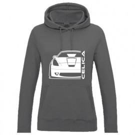 Toyota Celica T23 Vorfacelift Outline Modern Hoodie Lady