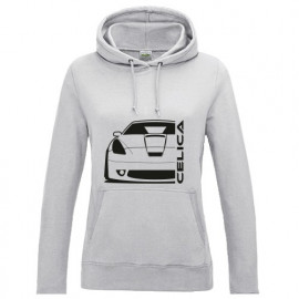 Toyota Celica T23 Vorfacelift Outline Modern Hoodie Lady