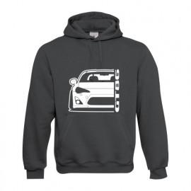 Toyota GT 86 Outline Modern Hoodie