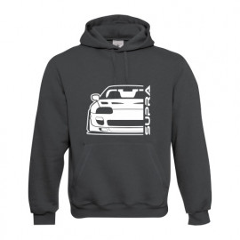 Toyota Supra MK4 Outline Modern Hoodie