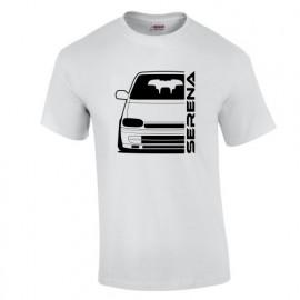 Nissan Serena C23 91-97 Outline Modern T-Shirt
