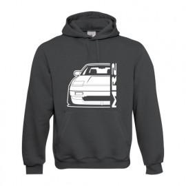 Toyota MR2 MK1 Outline Modern Hoodie