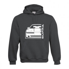 Toyota Supra MK3 Outline Modern Hoodie
