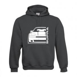 Toyota Supra MK3 Vorfacelift  Outline Modern Hoodie