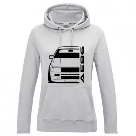 Toyota Corolla AE86 Outline modern Hoodie Lady