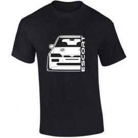 Ford Escort MK5 Cosworth Outline Modern T-Shirt