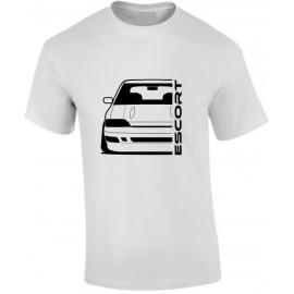 Ford Escort MK5 Rs2000 Outline Modern T-Shirt