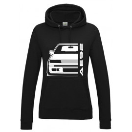 Toyota AE92 Gti Outline Modern T-Shirt Hoodie Lady