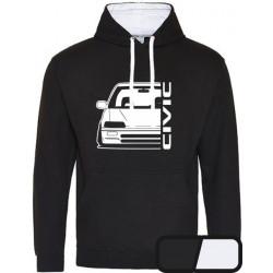Honda Civic ED  Outline Modern Hoodie Varsity