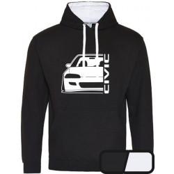 Honda Civic EG 3 4 5 6  Outline Modern Hoodie Varsity