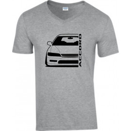Honda Accord CE2 Outline Modern V-Neck