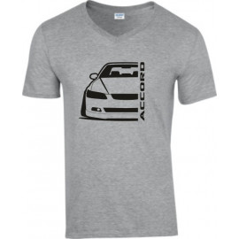 Honda Accord CL7  Outline Modern V-Neck