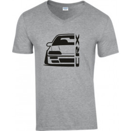 Honda Crx ED 9 Outline Modern V-Neck