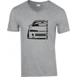 Honda Integra DC 2 JDM Outline Modern V-Neck