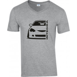 Honda Integra DC 5 Outline Modern V-Neck