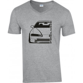 Honda Prelude BB 1 2 3 Outline Modern V-Neck