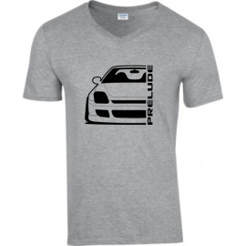 Honda Prelude BB 6 Outline Modern V-Neck