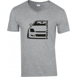 Honda Prelude BB 9 Outline Modern V-Neck