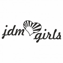 Jdm Girls Heart Rising Sun