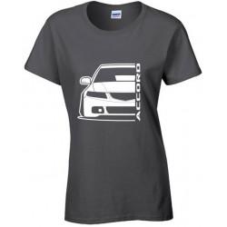 Honda Accord CL Outline Modern T-Shirt Lady