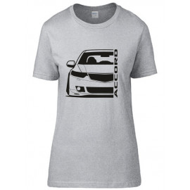 Honda Accord CU 2 Outline Modern T-Shirt Lady