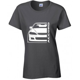 Honda Accord Type R CH 1 Outline Modern T-Shirt Lady